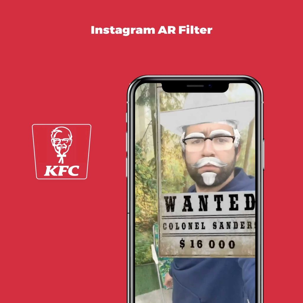 COLONEL SANDERS IS WANTED !